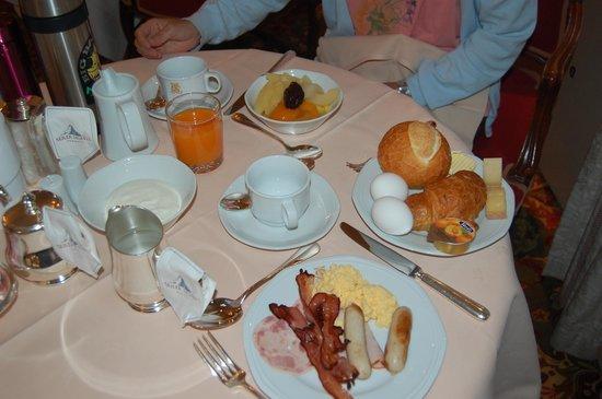 Hotel Monte Rosa: 朝食