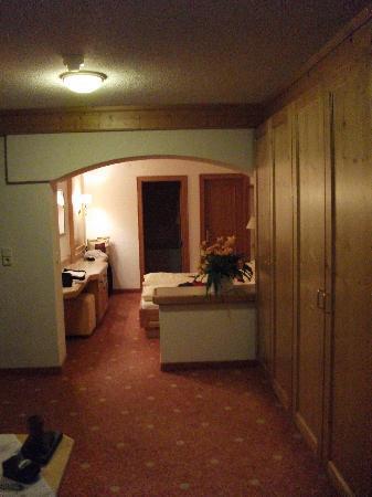 Hotel Gotthard-Zeit: Doppelzimmer mit Balkon