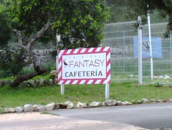 Paintball Fantasy entrance