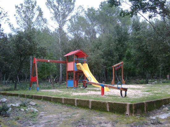 Recreational area just behind Paintball Fantasy