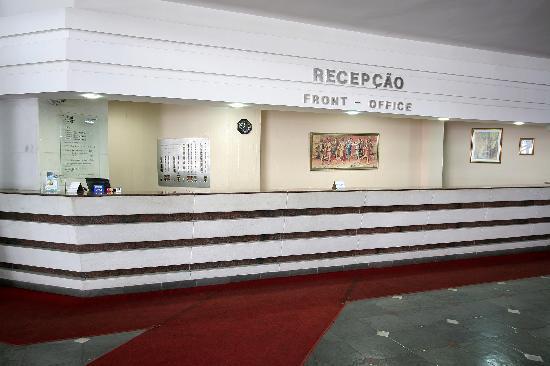 Real Residence Copacabana: Recepção do flat