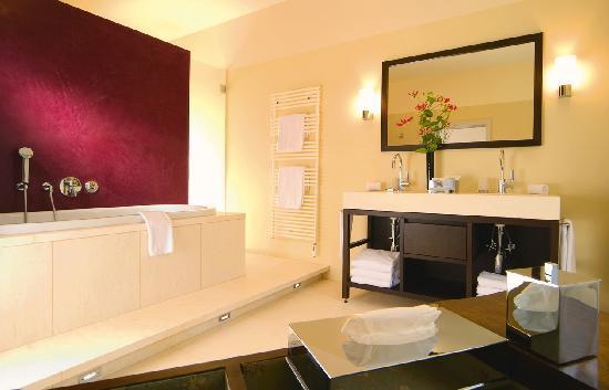 Alden Suite Hotel Splügenschloss Zurich: ALDEN bathroom