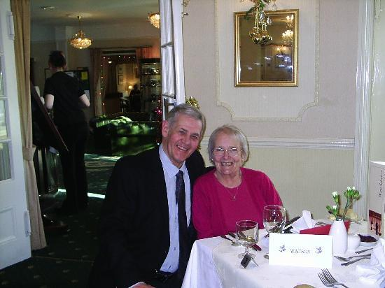 Cliff Head Hotel: Christmas day in the Restaurant