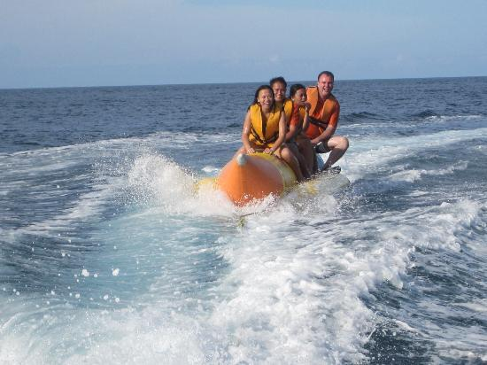 Paras Beach Resort: Banana boat Ride