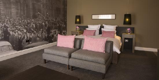 Bedrooms at Blythswood Square