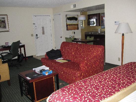 Residence Inn Oxnard River Ridge: View of room from bedside