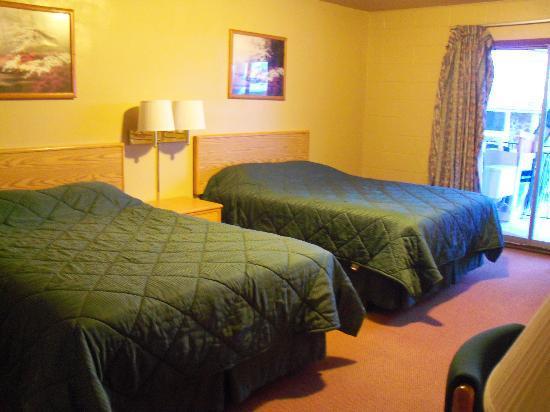 Ogden River Inn : Our basic double room