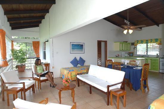 Lance Aux Epines Cottages: Two Bedroom, Two Bathroom Cottage