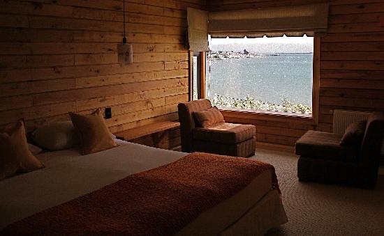 Weskar Patagonian Lodge: Superior room