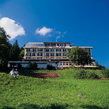 Maerchenhotel Bellevue : Das Märchenhotel im Sommer