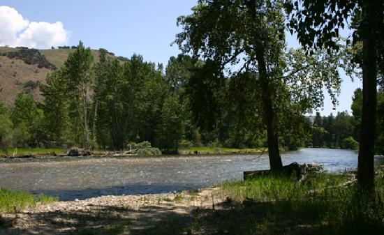 Chief Joseph Ranch: The Bitterroot River