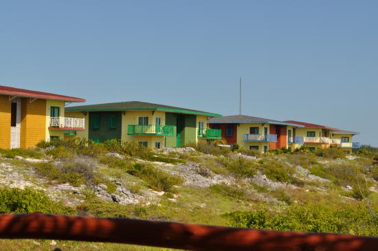 Iberostar Playa Blanca: Vue des appartements prise du Ranchon
