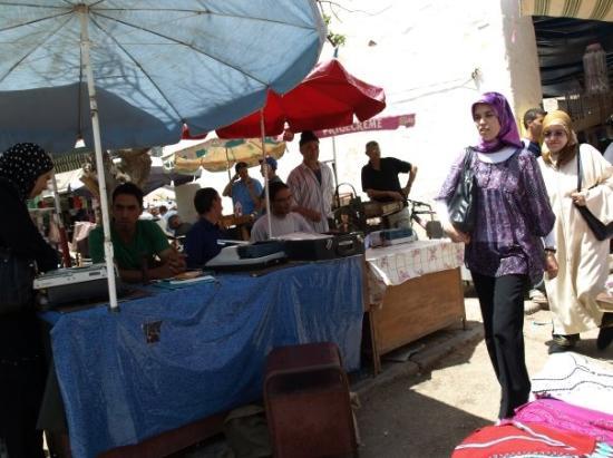 Saidia, Maroc : La Medina de Ougda