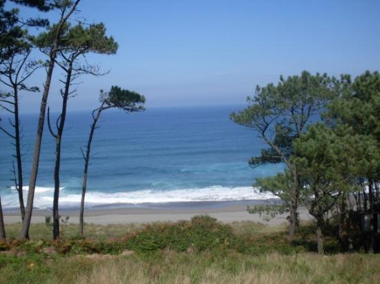 Navia, España playa de Frexulfe
