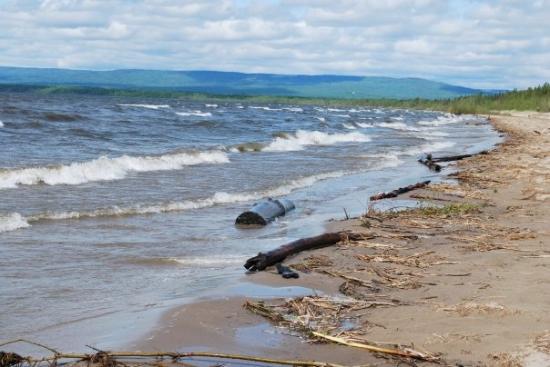 Slave Lake Beach Picture Of Slave Lake Alberta