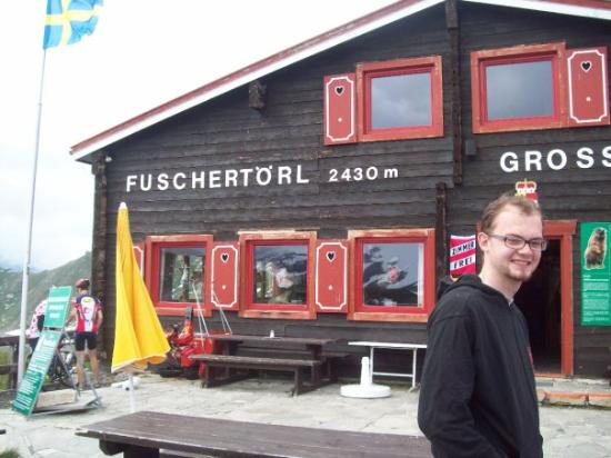At the souvenirshop of the Grossglockner, at 2430 meters hight!