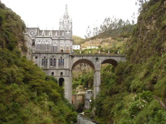 Santuario de Las Lajas: Las Lajas, Ipiales-Colombia