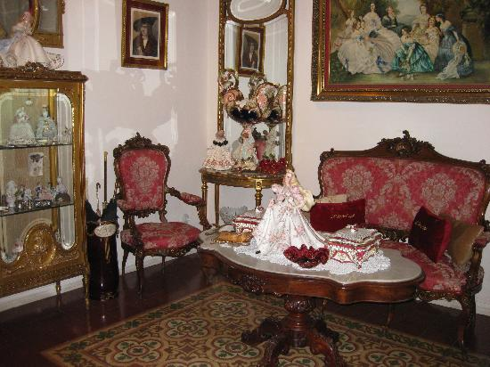 Hostal L' Antic Espai: 'lobby' decorated for the holiday