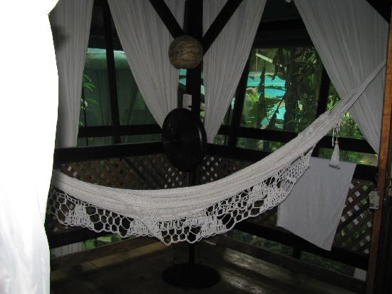 Hotel Almendros y Corales: Sleep in the hammock if you're bored with beds