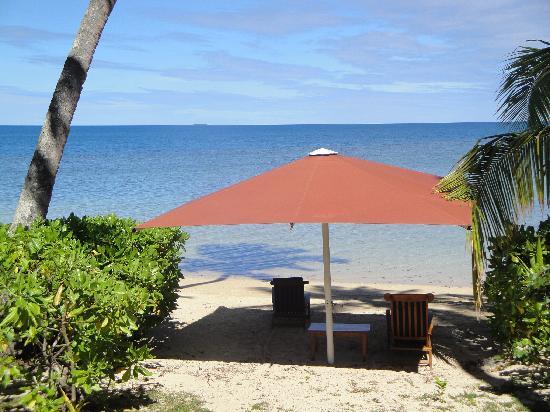 Nukubati Private Island: our private beach
