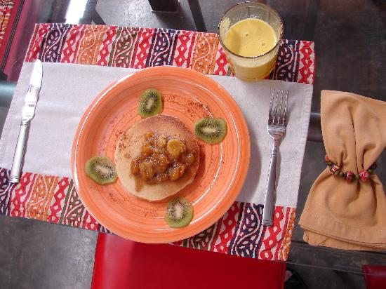 Casa Amanecer B&B: Delicious home made breakfast