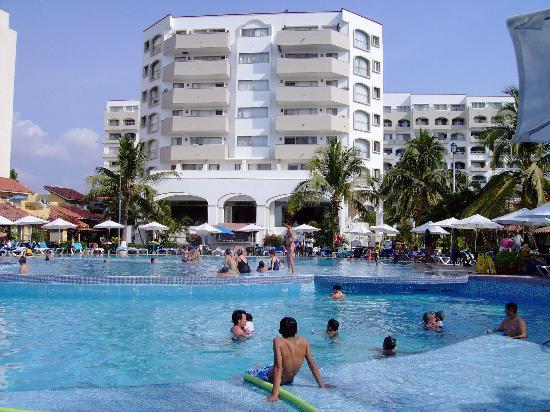 Tesoro Ixtapa : Derrière de l'hôtel