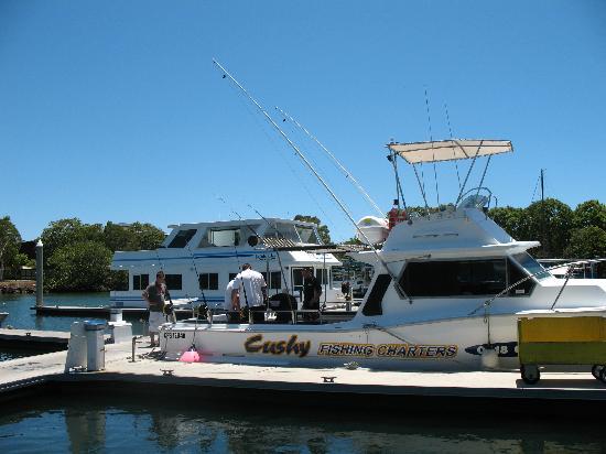 คูลังกัตตา, ออสเตรเลีย: Cushy's fishing boat