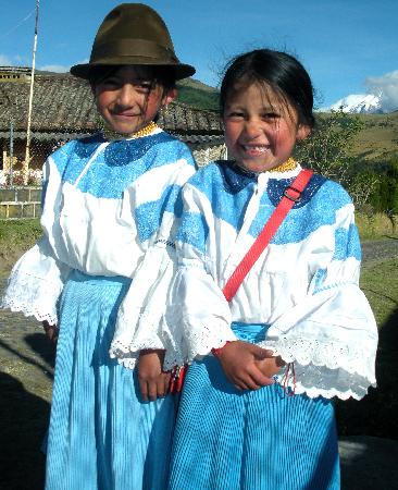 Hacienda Zuleta: Zuletan girls