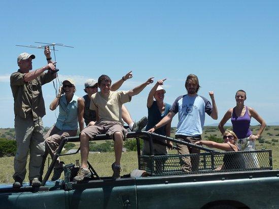 Port Elizabeth, Zuid-Afrika: Tracking lions