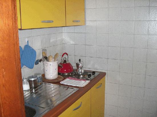 B&B Museo: cucina