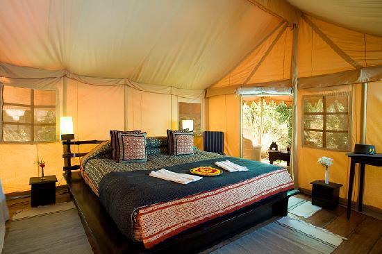 Khem Villas: Tent Inside