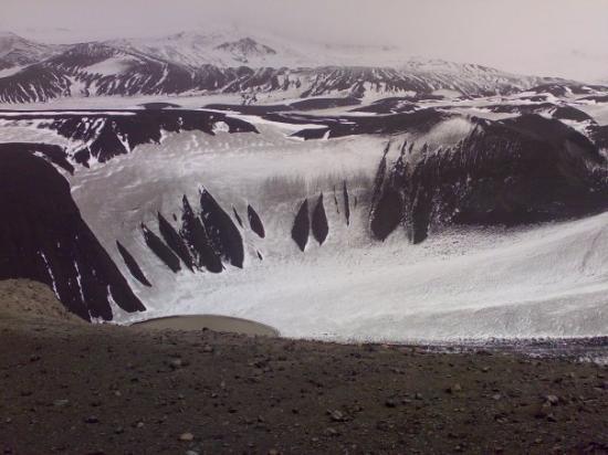 Deception Island Antarktis oder kurz davor