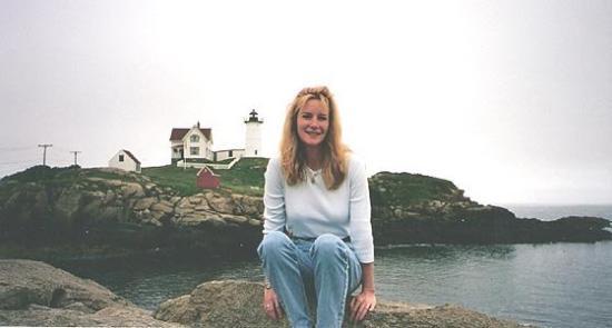 York Beach, ME: Old Photo - Nancy in York, Maine.