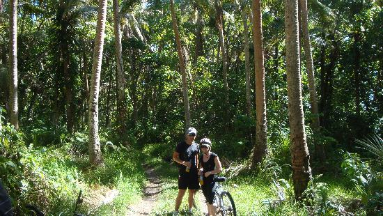 Mangoes Resort: eco tours - mountain biking. this tour took us to some truly amazing off the beaten track places