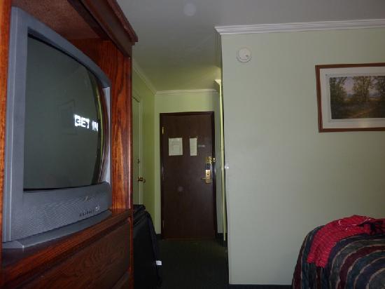 Rodeway Inn Livingston: Pasillo