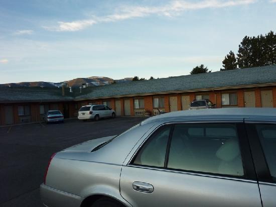 رودواي إن ليفنيجستون: Vista del motel