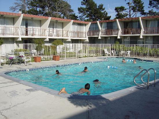 Monterey Bay Travelodge: piscine + hotel