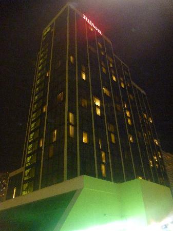 Hilton Miami Downtown: Building