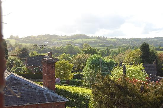 The Old Rectory Bed & Breakfast: view from bedroom window