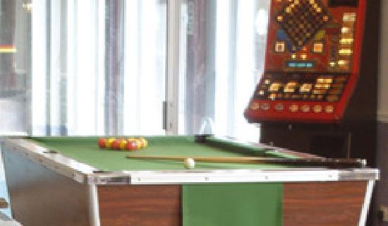 Inglewood Hotel: Games room