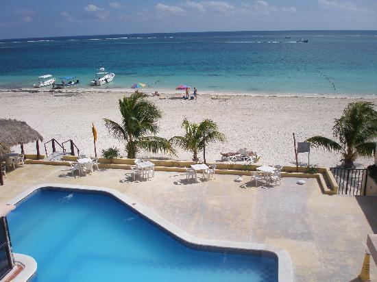 Hotel Ojo De Agua: View from balcony