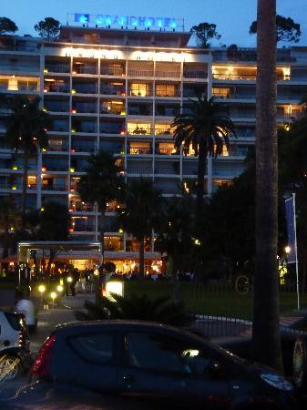 Le Grand Hotel: une visite précédente en été sur la croisette