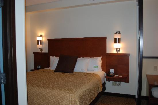 SpringHill Suites Birmingham Downtown at UAB : King Sized Bed!