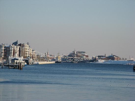 Wilhelmshaven, Germany: Blick auf den Großen Hafen
