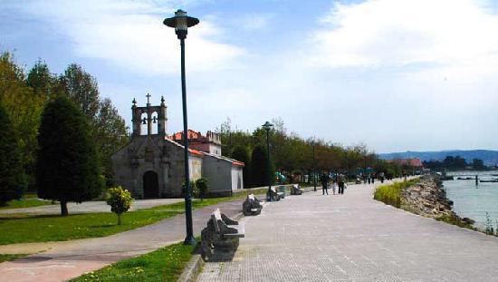 Cangas do Morrazo, Hiszpania: Paseo Marítimo