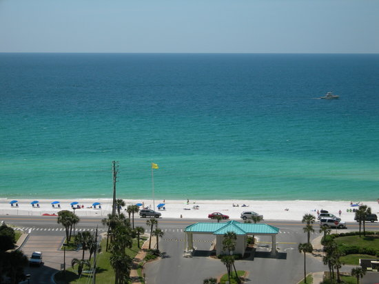 Ariel Dunes at Seascape Resort: View from the balcony of our 12th floor condo