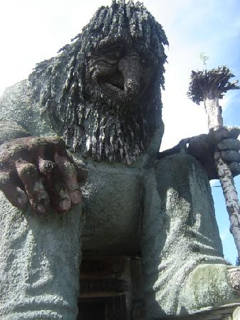 Lillehammer, Norway: the TROLL