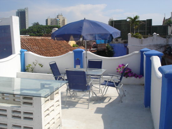 Hotel Boutique Cochera de Hobo: TERRAZA