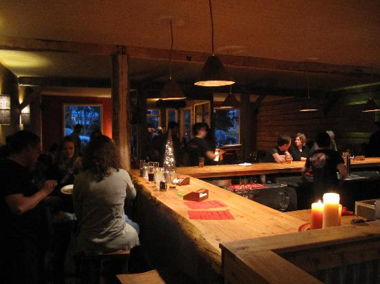 Baguales Brewery + Restaurant: Only real bar in town!