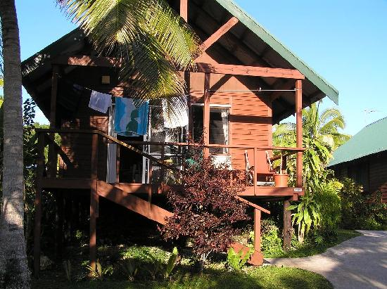 Coral Gardens: our fale
